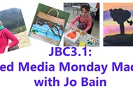 Image for event: Mixed Media Monday Madness with Jo Bain: SOLD OUT