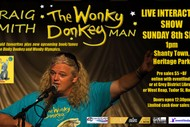 Image for event: Wonky Donkey Man children's show