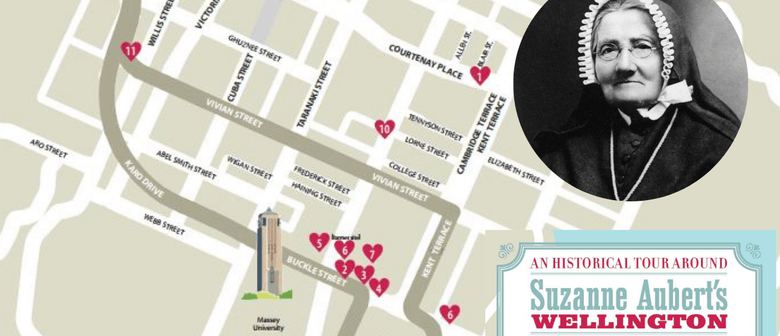 Historical Walking Tour of Suzanne Aubert's Wellington