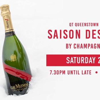 QT Queenstown presents Saison des Neiges by Champagne Mumm