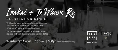 Izakai and Te Whare Ra Wine Night