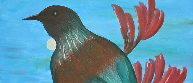 Create Your Own Tui Painting With Heart For Art NZ