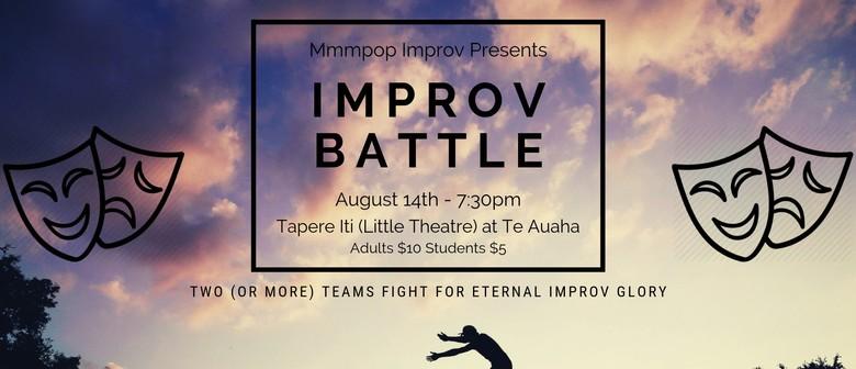 mmmpop Improv Presents: Improv Battle!
