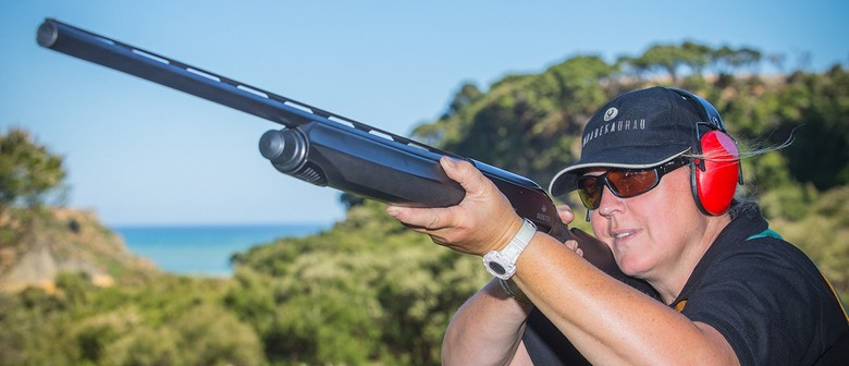 Competitive Sporting Clay Shoot
