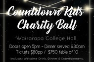 Image for event: Countdown Kids Charity Ball - Hosted by Countdown Masterton