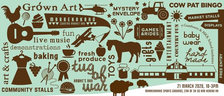 Maraekakaho Country Market Day