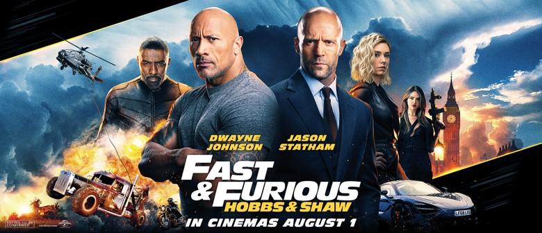 Fast Furious Hobbs Shaw Christchurch Eventfinda
