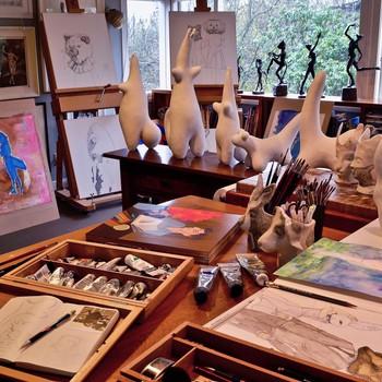 Julie Ross: Studio Zoo
