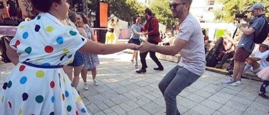 Learn to Swing Dance With Sugarfoot Stomp - Cuba Street