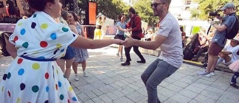 Learn to Swing Dance With Sugarfoot Stomp - Cuba Street