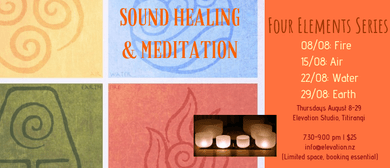 Sound Healing & Meditation: Four Elements
