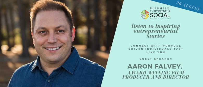 Entrepreneur Social Aaron Falvey, Award Winning Film Maker