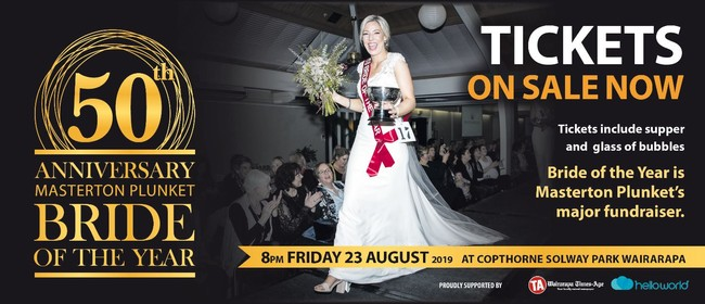 2019 Wairarapa Bride of the Year Contest