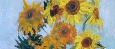 Paint and Wine Night - Van Gogh's Sunflowers - Paintvine