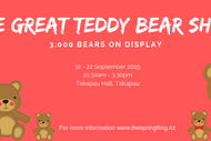 Image for event: The Great Teddy Bear Show