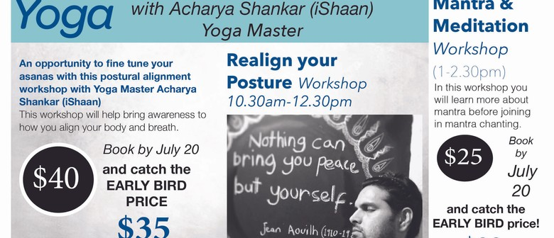 Realign Your Posture Workshop: CANCELLED