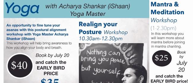 Meditation & Mantra Workshop: CANCELLED