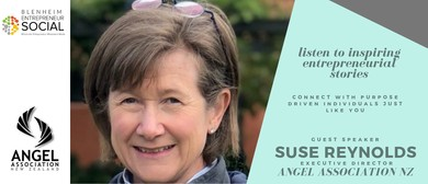 Entrepreneur Social | Suse Reynolds, Angel Association NZ