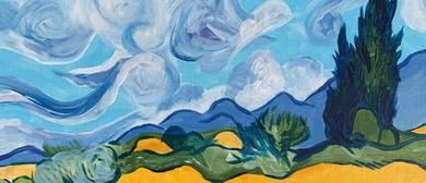 Paint and Wine Night - Wheat Field - Paintvine