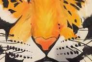 Image for event: Paint and Wine Night - The Tiger - Paintvine