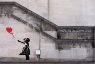 Paint and Wine Night - Banksy's Balloon Girl - Paintvine