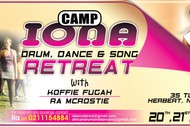 Image for event: Camp Iona Drum, Dance and Song Retreat