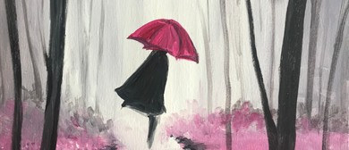 Paint & Chill Night - Walking in the Rain