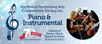 Northland Performing Arts Competitions: Piano & Instrumental
