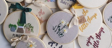 Not Your Mama's Embroidery - Hand Embroidery Workshop