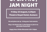 Image for event: Open Mic / Jam Night