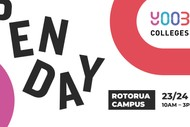Image for event: Open Day - Yoobee Colleges - Rotorua Campus