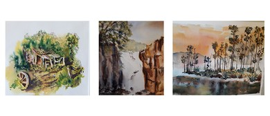 PSA: The Magic of Watercolour Painting with Pauline Smith: SOLD OUT
