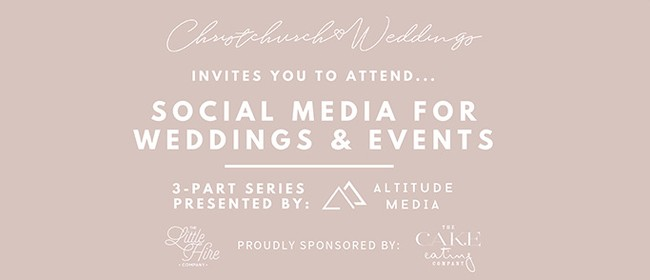 Social Media for Wedding and Events