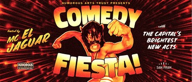 Comedy Fiesta! with MC El Jaguar