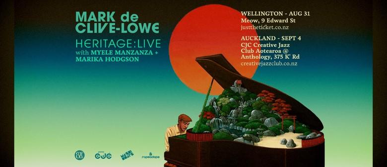 Mark de Clive-Lowe - Heritage: Live Wellington