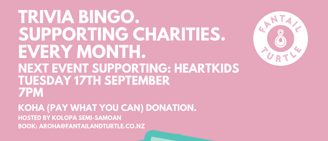 Trivia Night – Charity Fundraiser for HeartKids: CANCELLED
