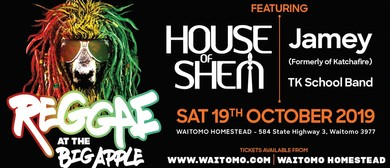 Reggae At the Big Apple With House of Shem