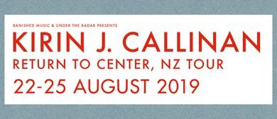 Kirin J Callinan – Return To Center NZ Tour