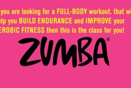 Image for event: Zumba Fitness Class