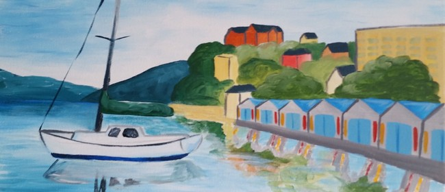Paint and Wine Night – Oriental Bay – Paintvine