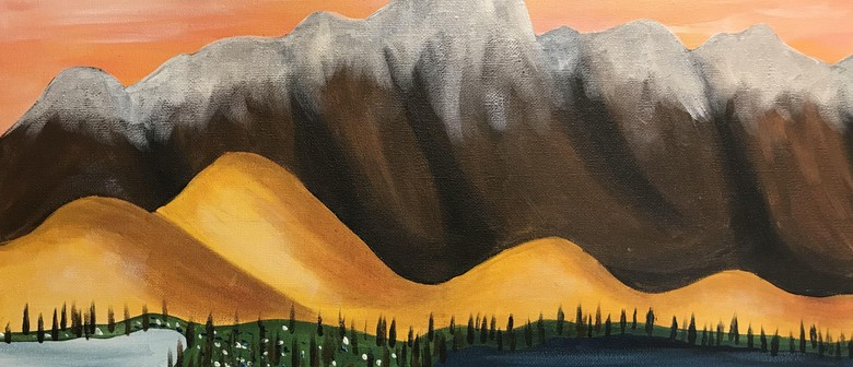 Paint and Wine Night – The Remarkables – Paintvine