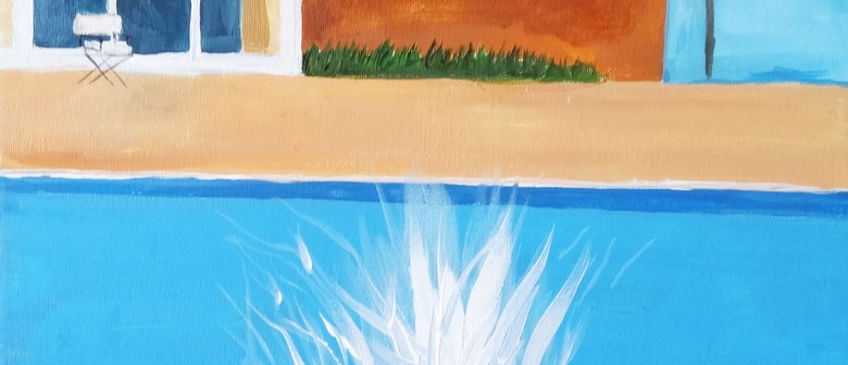 Paint and Wine Night – A Bigger Splash – Paintvine