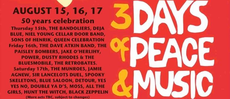 Paisley Woodstock Festival