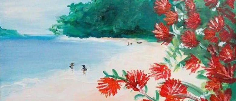 Paint and Wine Night – Summer in NZ – Paintvine