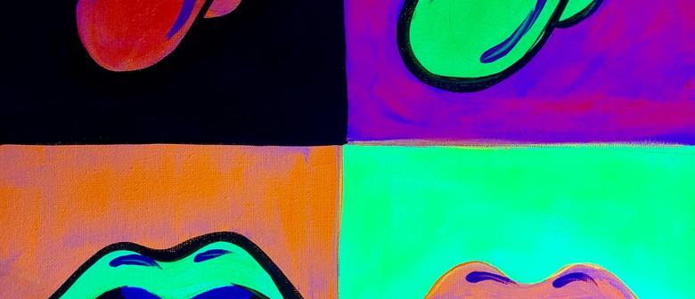Glow In The Dark Paint Night – Rolling Stones – Paintvine