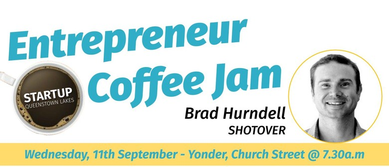 Entrepreneur Coffee Jam Featuring SHOTOVER Camera Systems