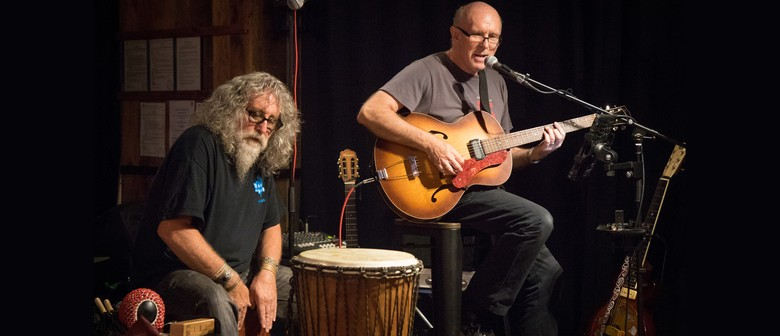 Barrel Room Blues with Mike Garner & Warren Houston