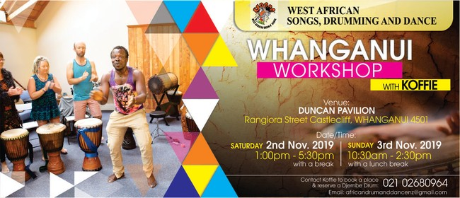 West African Drumming and Songs Workshop-Two days