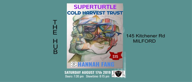 Superturtle, Cold Harvest Trust & Hannah Fang