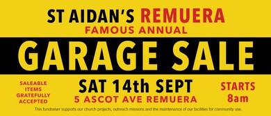 St Aidan's Remuera : Famous Annual Garage Sale